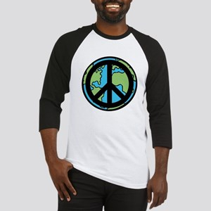 Peace on Earth in Black Baseball Jersey
