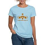 Come and take it uterus Women's Light T-Shirt