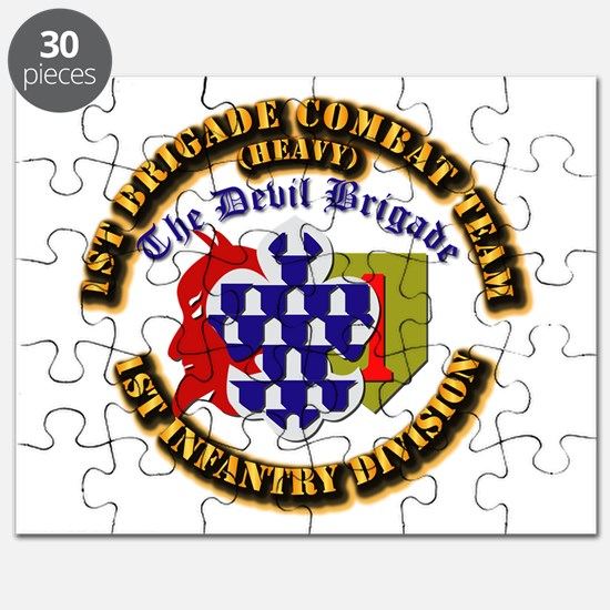 Army - 1st Infantry Div - 1st BCT Puzzle