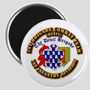 Army - 1st Infantry Div - 1st BCT Magnet