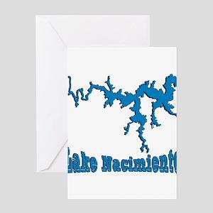 NACI DRAGON_BLUE2 SAMPLE Greeting Card