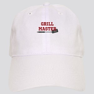 Grill Master Spatula in Red Baseball Cap