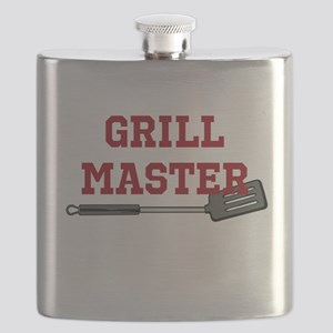 Grill Master Spatula in Red Flask