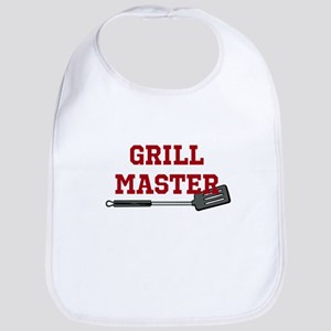 Grill Master Spatula in Red Bib