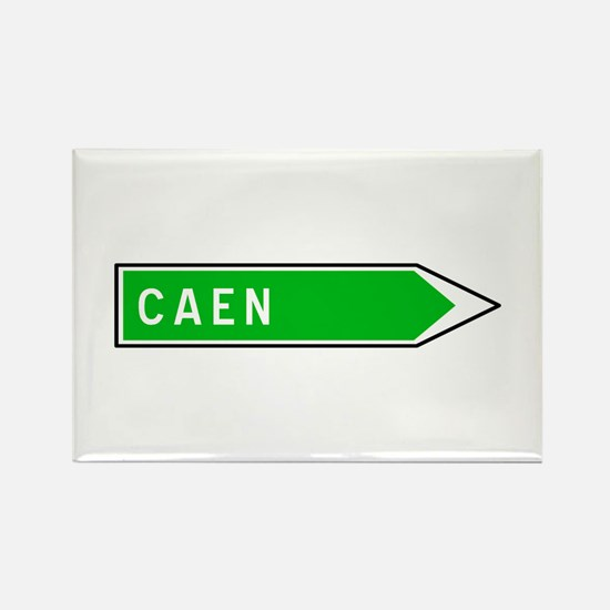Roadmarker Caen - France Rectangle Magnet