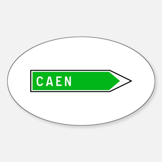 Roadmarker Caen - France Oval Decal