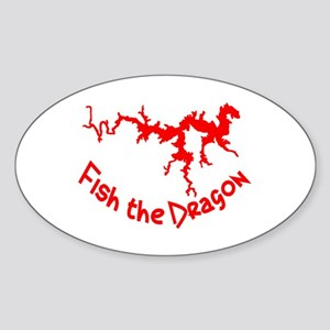 FISH THE DRAGON Sticker