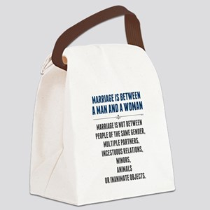 Marriage In America Canvas Lunch Bag