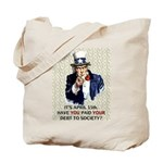 Debt 2 Society Tote Bag