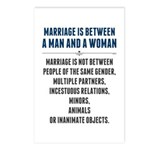 Marriage In America Postcards (Package of 8)
