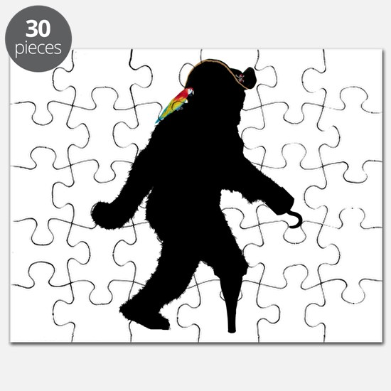 Sasquatch Pirate Captain Puzzle