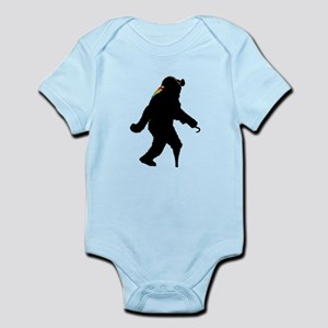 Sasquatch Pirate Captain Body Suit