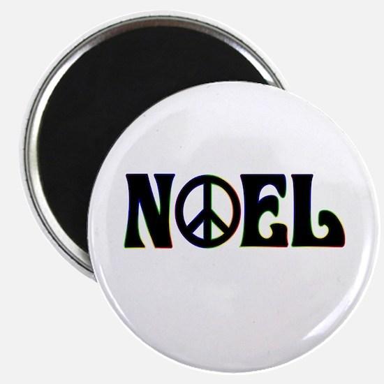Noel Peace Sign Magnet