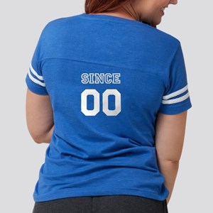 Couples Since Personalized Womens Football Shirt