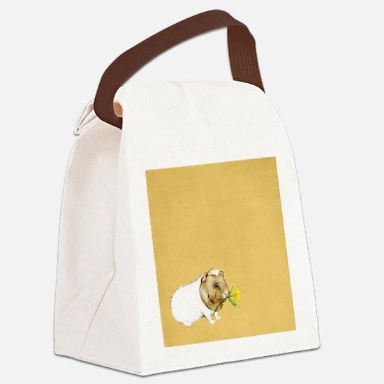 Unique Guinea pig Canvas Lunch Bag