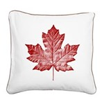 Canada Souvenir Pillow Vintage Canadian Maple Leaf