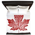 Canada Souvenirs Vintage Canadian Maple Leaf King