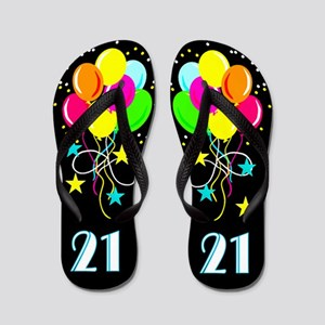 DAZZLING 21ST Flip Flops