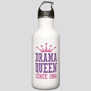 Drama Queen Since 1984 Stainless Water Bottle 1.0L