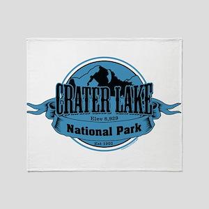 crater lake 3 Throw Blanket