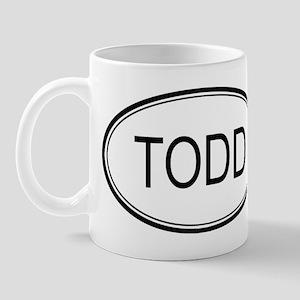 Todd Oval Design Mug