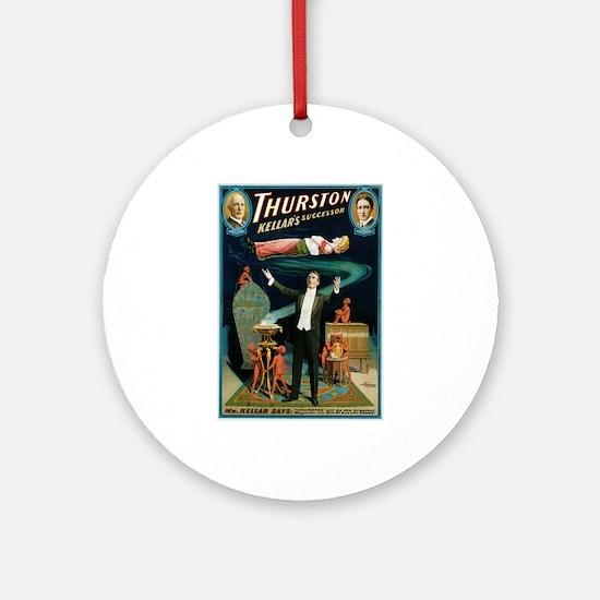 Thurston Magic Levitation Ornament (Round)