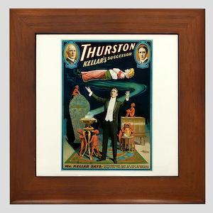 Thurston Magic Levitation Framed Tile