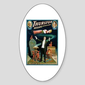 Thurston Magic Levitation Sticker (Oval)