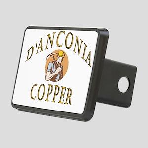 d'Anconia Copper Retro Miner Hitch Cover