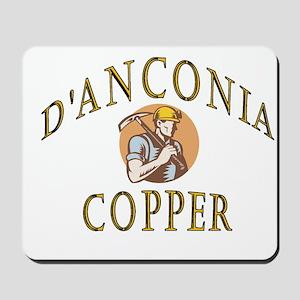 d'Anconia Copper Retro Miner Mousepad