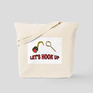 HOOK UP Tote Bag