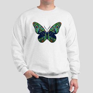 Butterfly Peacock w/ Hands Sweatshirt