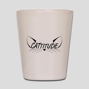 Cattitude Shot Glass