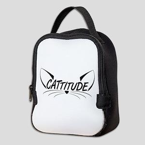 Cattitude Neoprene Lunch Bag