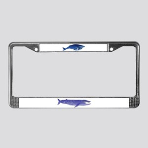 Humpback Whale Mom and Baby 2 License Plate Frame