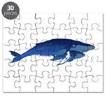Humpback Whale Mom and Baby 2 Puzzle