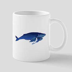 Humpback Whale Mom and Baby 2 Mug