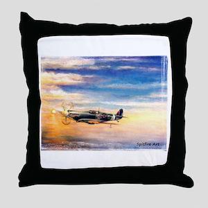 SPITFIRE ART Throw Pillow