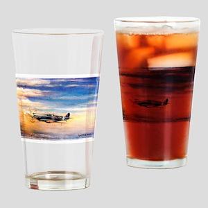 SPITFIRE ART Drinking Glass
