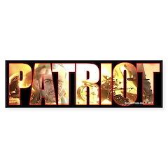 True Patriot Bumper Bumper Sticker