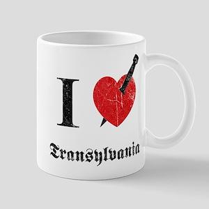 I love Transylvania (eroded) Mug