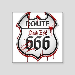 Route 666 Sticker