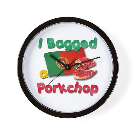 Porkchop Lovers Wall Clock