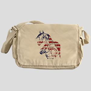 Patriotic Arabians Messenger Bag