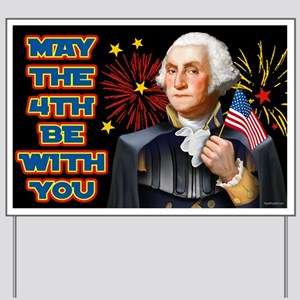 May the4th Be With You Yard Sign
