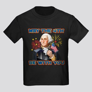 May the4th Be With You Kids Dark T-Shirt