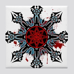 Cross of Chaos Tile Coaster