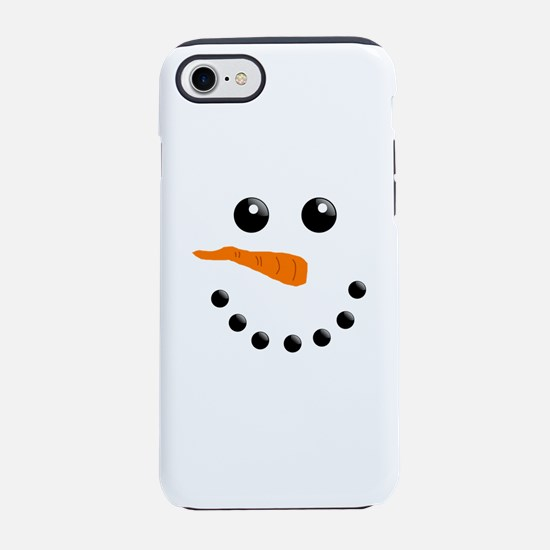 Christmas Snowman iPhone 8/7 Tough Case