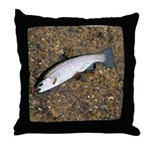 Taneycomo Rainbow Trout PS Throw Pillow