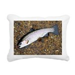 Taneycomo Rainbow Trout PS Rectangular Canvas Pill